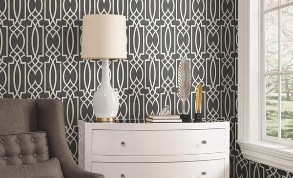 York. Wall coverings wallpaper pattern